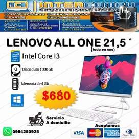 ALL IN ONE MARCA LENOVO 21,5''
