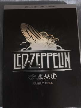 CD + DVD Led Zeppelin - Family Tree - Special Edition, impecable