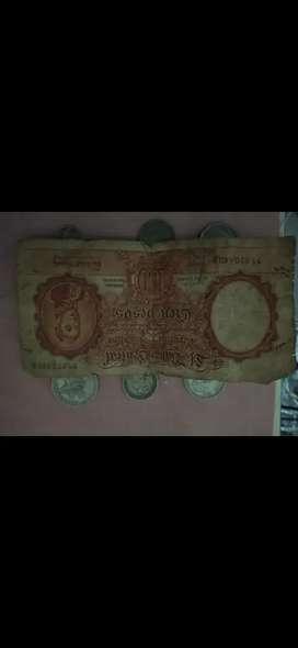 Vendo billete de 100pesos Argentino