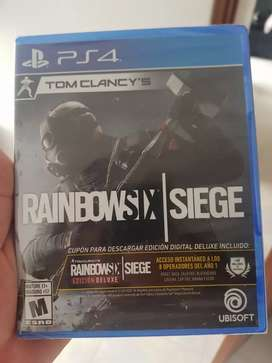 Rainbow six ps4 nuevo+ 3 meses de plus