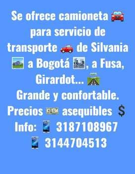 SERVICIO DE TRANSPORTE PARTICULAR ( EXPRESO)