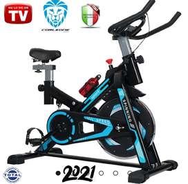 Bicicleta estática TV spinning gimnasio, ajustable, elíptica, SPORT. Modelo 2021 nueva