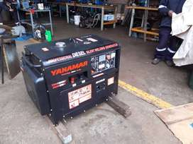 generador-motor con soldador marca Yanamar