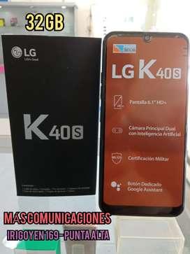 LG k40S 32GB NUEVO LIBRE