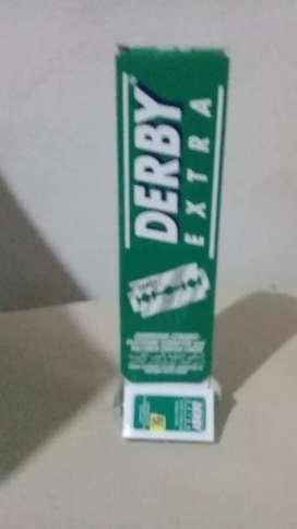 Hojitas de afeitar derby extra