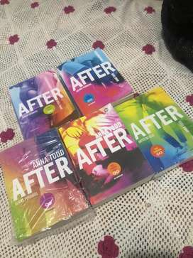 Anna Todd - AFTER (coleccion)