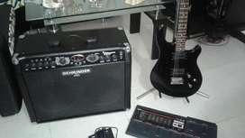 Combo Guitarra Pedalera Ampli Guitarra