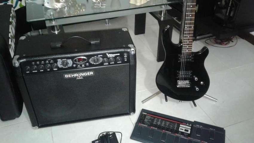Combo Guitarra Pedalera Ampli Guitarra 0