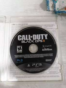 Call of duto black opsll, uncharted 1, 2, 3,