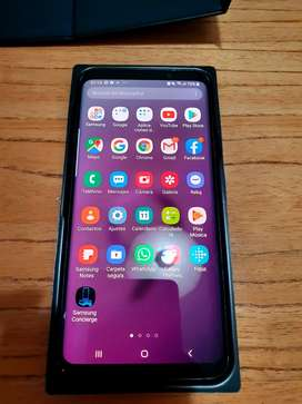 Samsung S9 Plus excelente estado con caja y accesorios