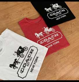 Camiseta coach algodon