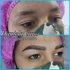 Micropigmentación cejas, línea de ojos y limpieza facial