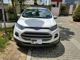 Ford Eco Sport Placas Blancas