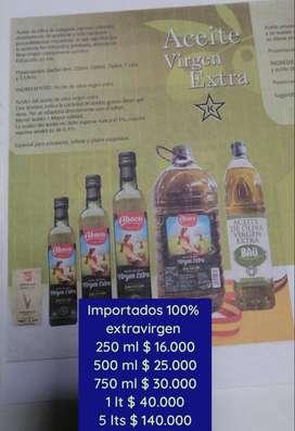 Aceite de oliva extravirgen