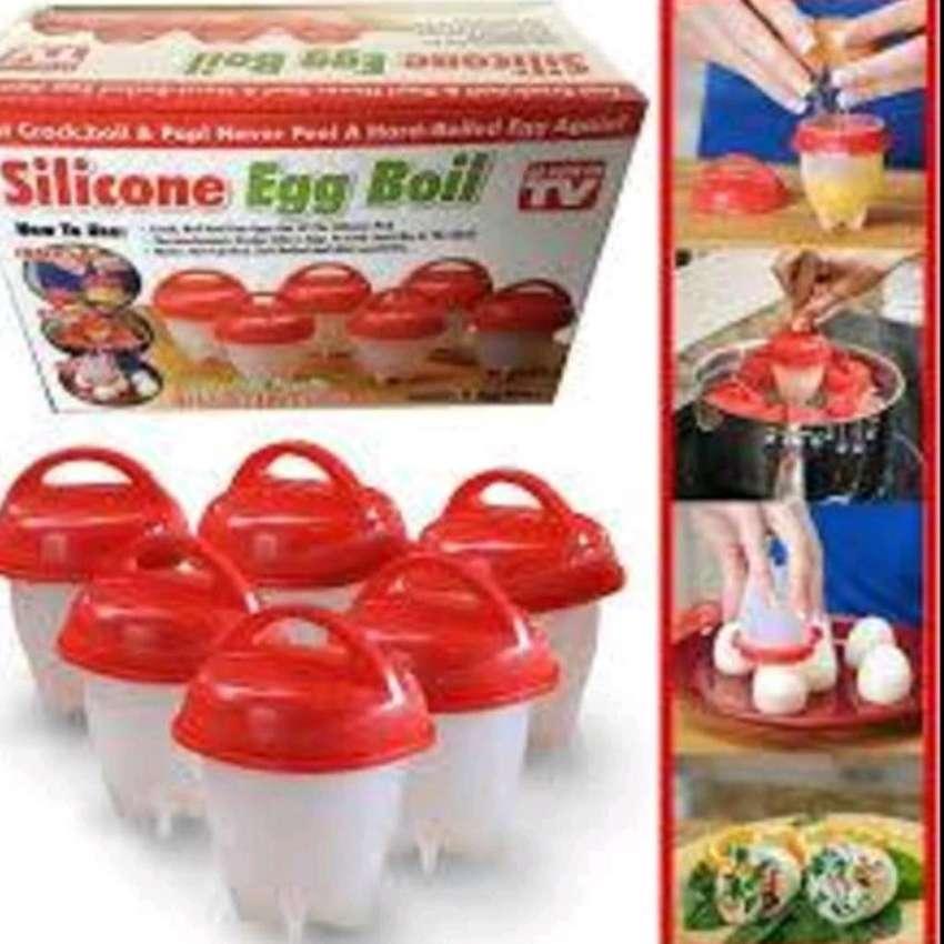 Recipientes Cocinar Huevos sin Casc 0