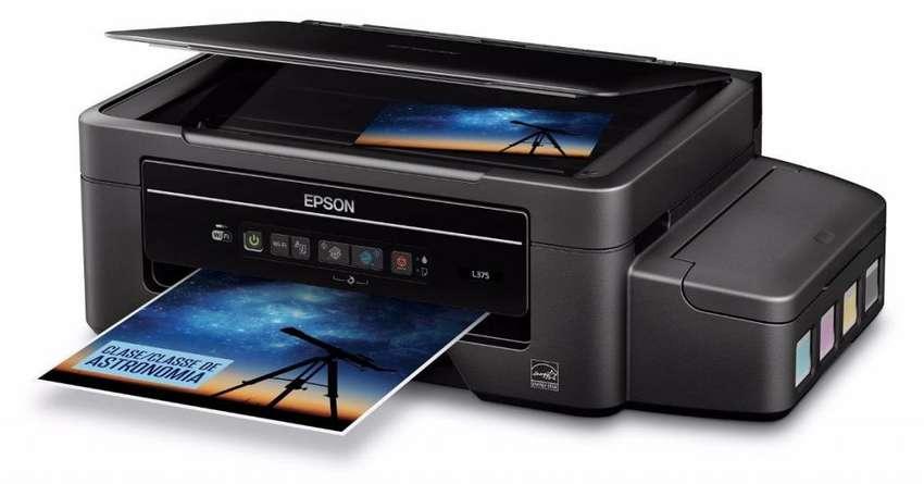 Epson L375 Multifuncion Tinta Continua Original Garantia Wif 0