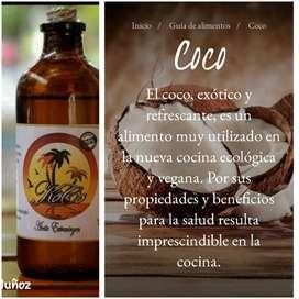ACEITES NATURALES COCO AJONJOLÍ ALMENDRAS