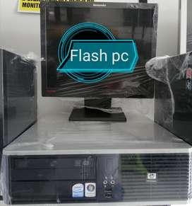 Oferta Pc Hp Intel Pentium Dual Core completo con factura y garantía