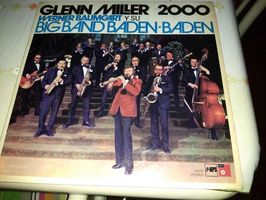 EXCELENTE DISCO DE VINILO LP GLENN MILLER 2000 DE WERNER BAUMGART Y SU BIG BAND BADENBADEN 0