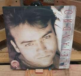 Vinilo Long Play Lp Dísco Acetato Pasta Vinyl Discos Alejandro Martinez