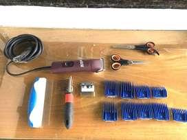 Máquina peluquería canina Andis y accesorios
