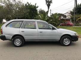 Vendo Toyota Corolla Station Wagon 2002 (transmisión mecánica)