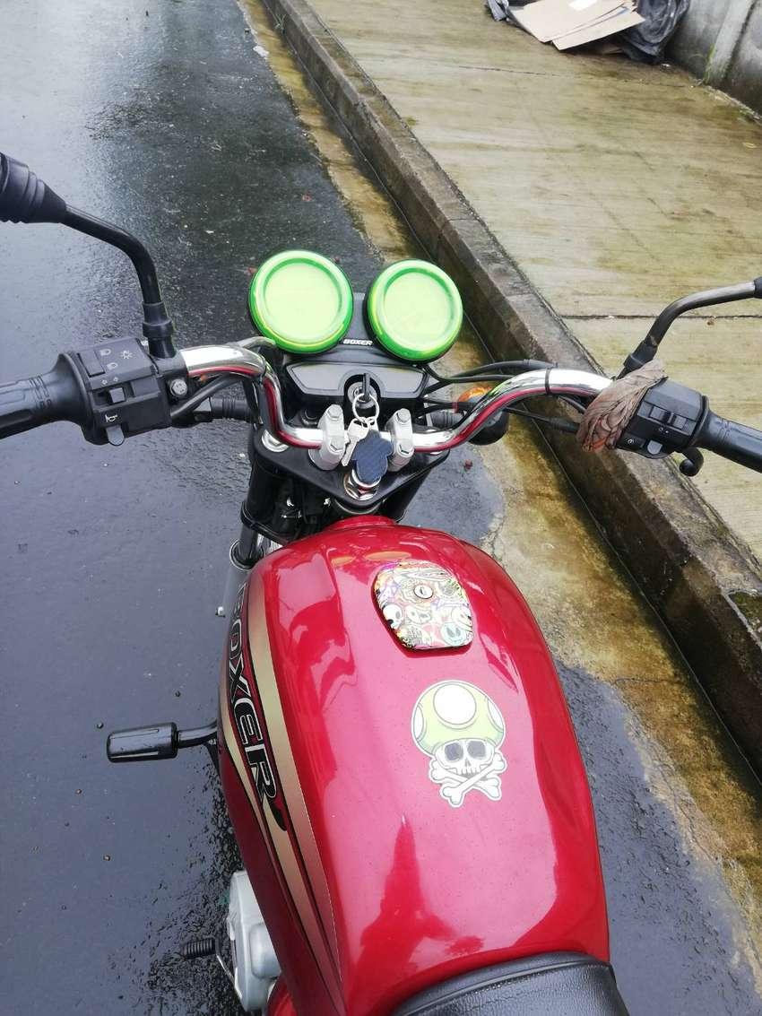 Moto boxer bm 150 0