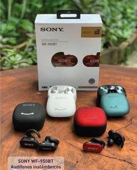 Audifonos Bluetooth Sony Wf-950bt Con Cancelación De Ruido