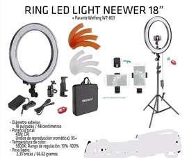 Anillo de luz LED Profesional