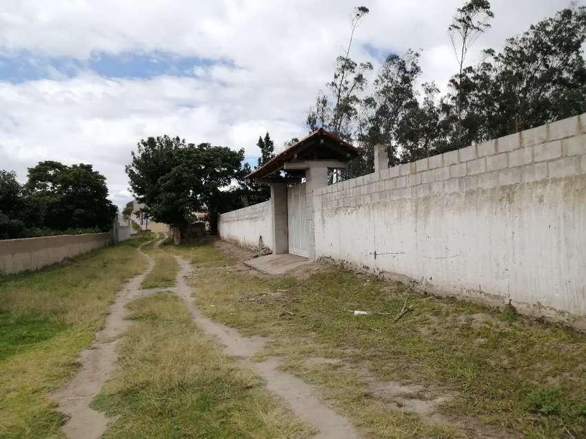 VENDO HERMOSO TERRENO DE4959 M2 EN BELLAVISTA DE SAN ANTONIO DE IBARRA