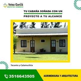 Agrimensor y Arquitecta en Yacanto y Calamuchita