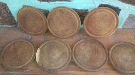 Platos de Algarrobo precio Unitario