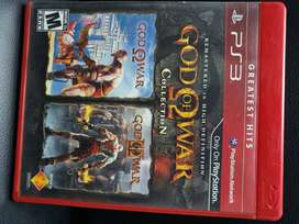 God of war collection 1 y 2 - ps3
