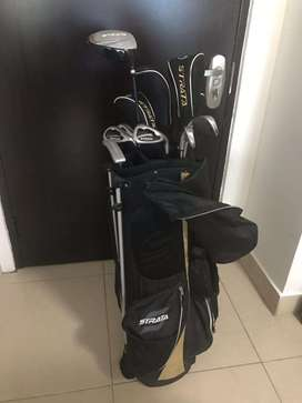 Vendo bolso y set de palos de golf
