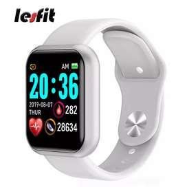 Smart watch Y68 blanco