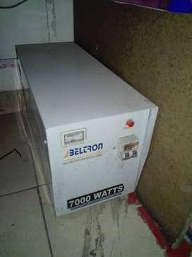 Vendo Estabilizador 7000 Watts