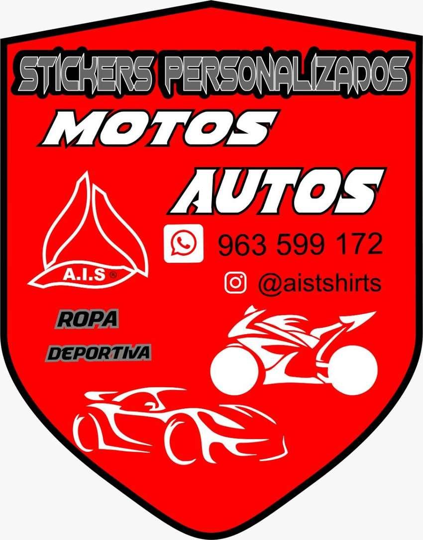 STICKERS TROQUELADOS EN VINIL ADHESIVO TAMBIEN STICKERS MOTO AUTO LAPTOPS FULL COLOR 0