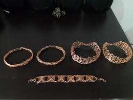 Venta manillas de cobre