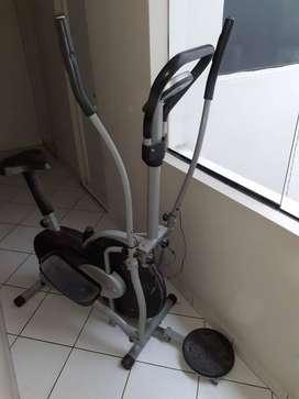 Bicicleta elíptica semi nueva