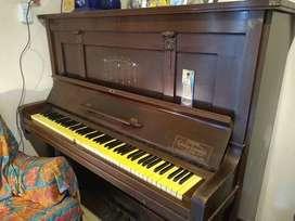 PIANO VERTICAL GEBR ZIMMERMANN LEIPZIG ALEMAN