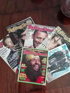 ROLLING STONE. Lote de 5 Revistas