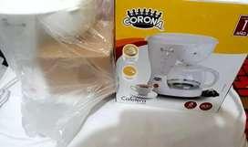 Cafetera corona