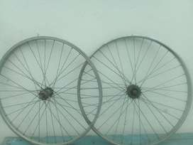 Ruedas llantas de bici 26