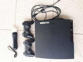 Playstation 3 slim black 500 gb