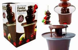 Mini fuente chocolate Fondue 3 Niveles