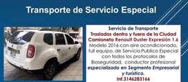 Servicio de transporte Aeropuerto