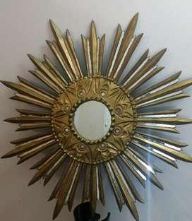 Espejo Decorativo Tipo Sol