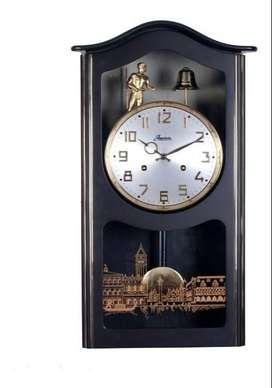 Reloj  Antiguo de Pared Jawuaco Campanero
