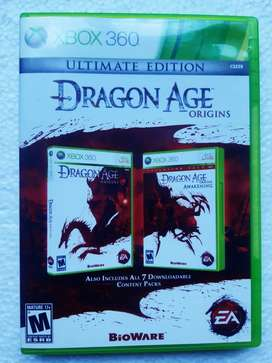 Dragón age ultimate Xbox 360 (2 dvds)