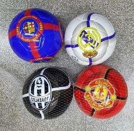 Pelota De Futbol Nº 5 Clubes Europeos Cuero Sintetico